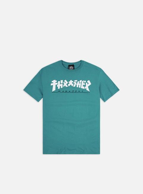Outlet e Saldi T-shirt a Manica Corta Thrasher Godzilla T-shirt