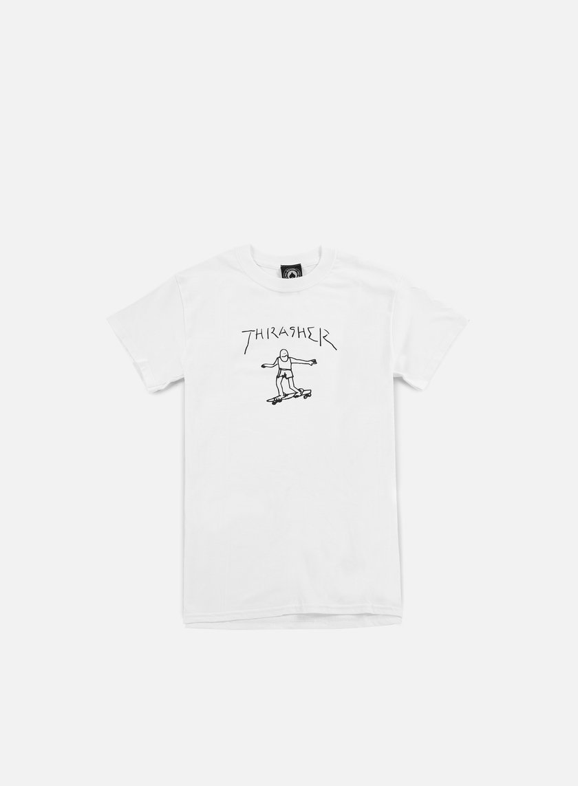 Thrasher - Gonz T-shirt, White
