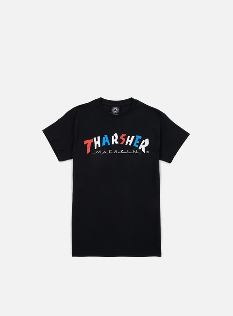 t shirt thrasher knock off t shirt black