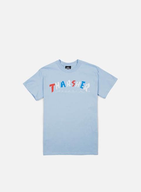 t shirt thrasher knock off t shirt light blue