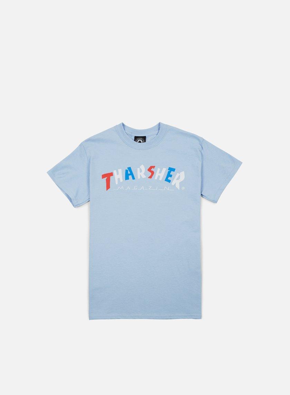 Thrasher - Knock Off T-shirt, Light Blue
