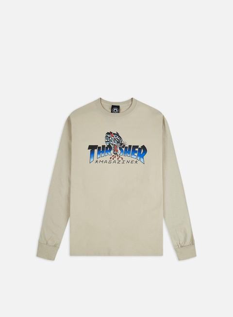 Thrasher Leopard Mag LS T-shirt