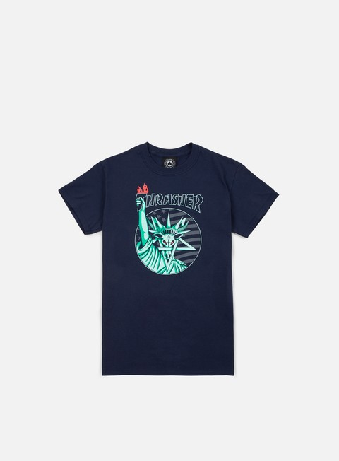 Sale Outlet Short sleeve T-shirts Thrasher Liberty Goat T-shirt