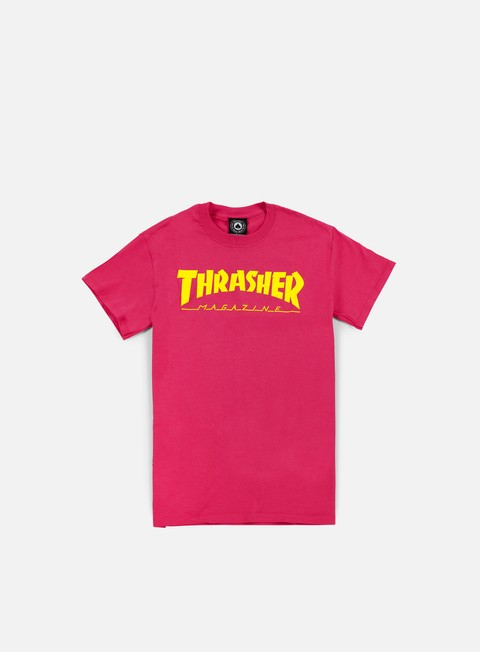 Short Sleeve T-shirts Thrasher Magazine Logo T-shirt