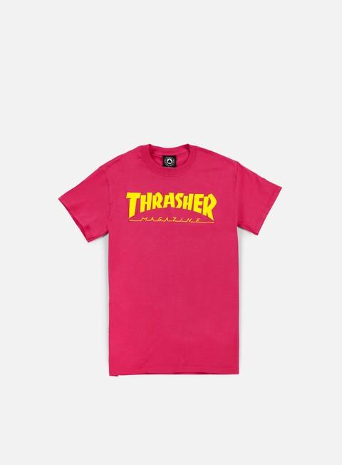 t shirt thrasher magazine logo t shirt pink
