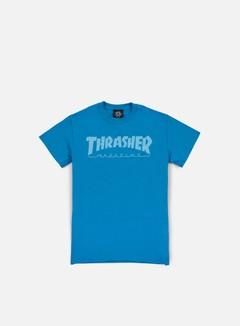 Thrasher - Magazine Logo T-shirt, Sapphire