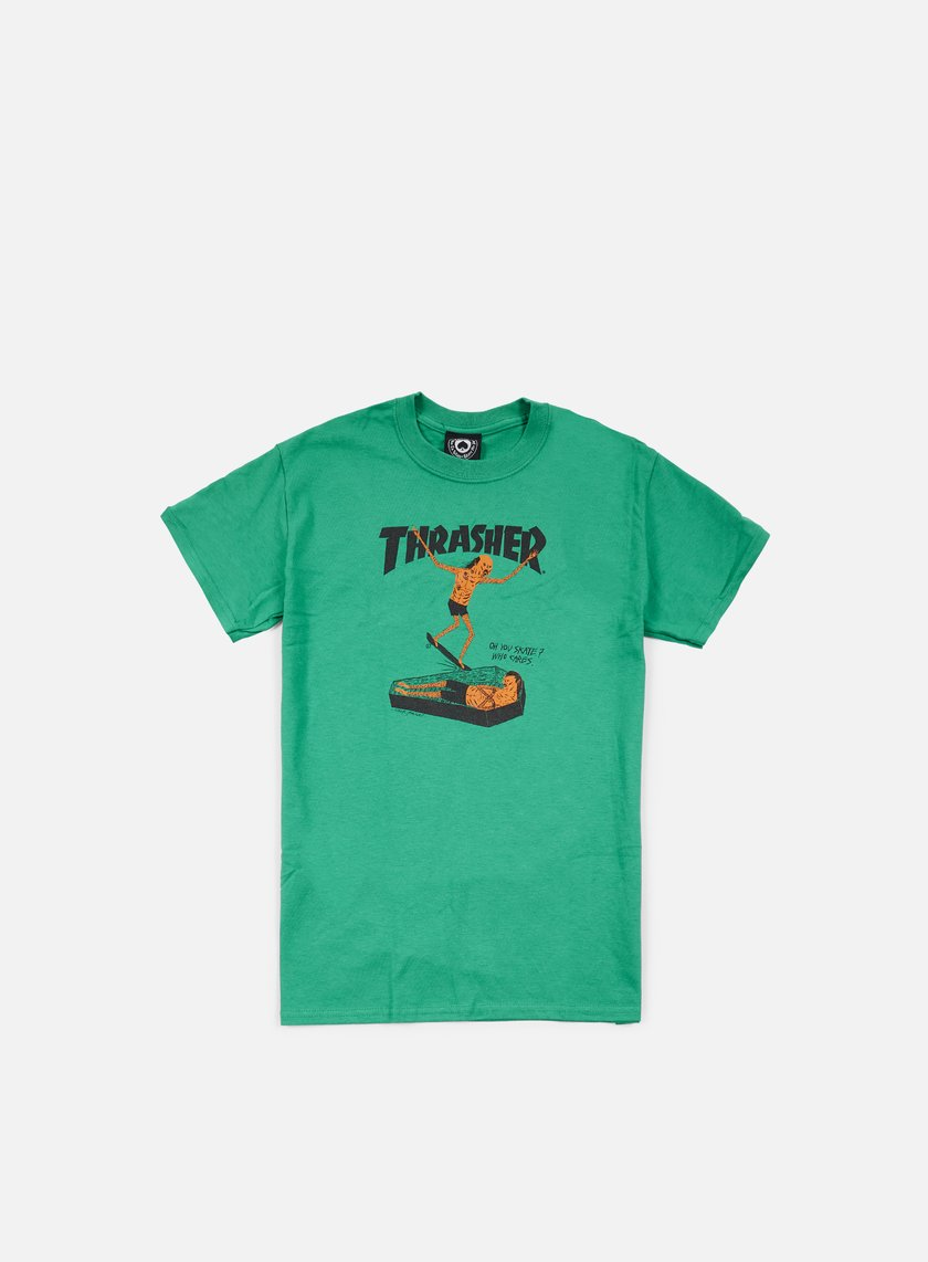 THRASHER Neck Face T-shirt € 35 Short Sleeve T-shirts  400c86c896