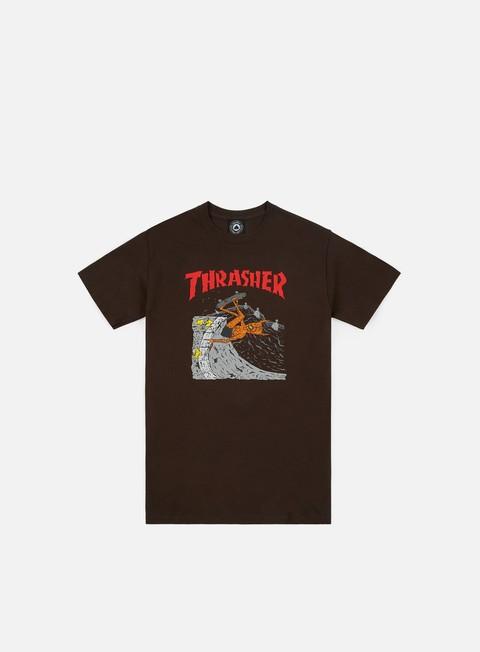 Sale Outlet Short sleeve T-shirts Thrasher Neckface Invert T-shirt