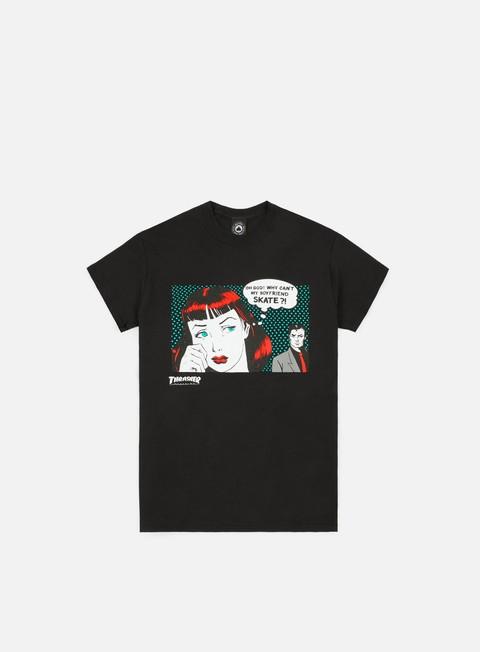 T-shirt a manica corta Thrasher New Boyfriend T-shirt