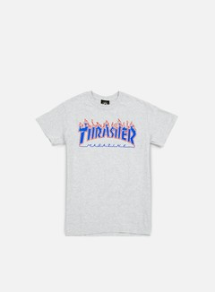 Thrasher - Patriot Flame T-shirt, Ash Grey 1
