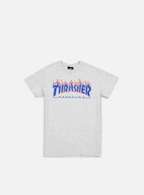 Short Sleeve T-shirts Thrasher Patriot Flame T-shirt