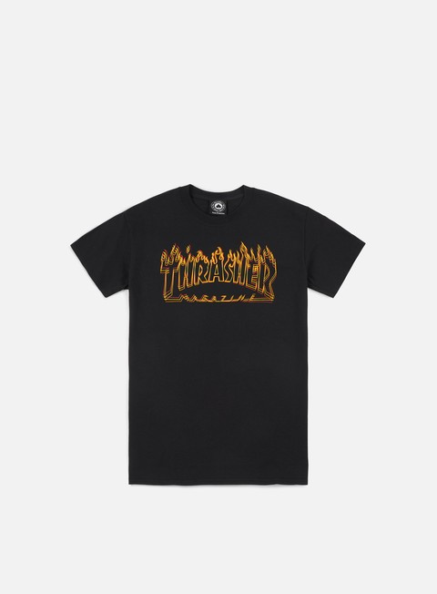 t shirt thrasher richter t shirt black