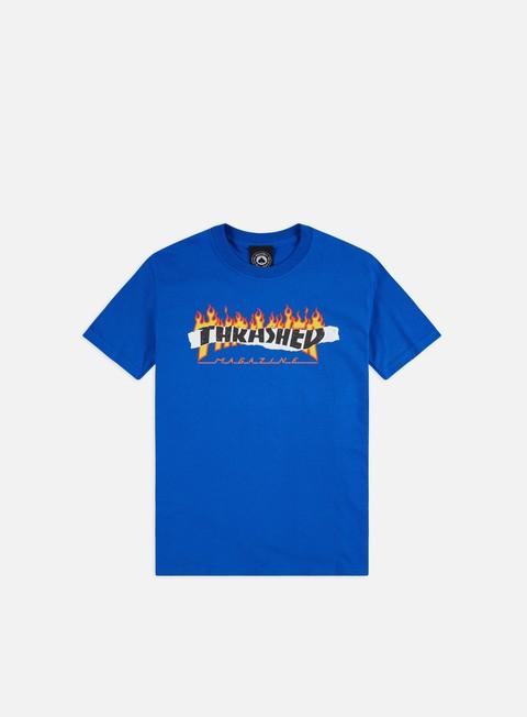 Short Sleeve T-shirts Thrasher Ripped T-shirt