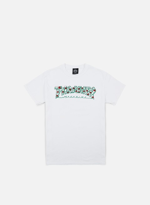 t shirt thrasher roses t shirt white