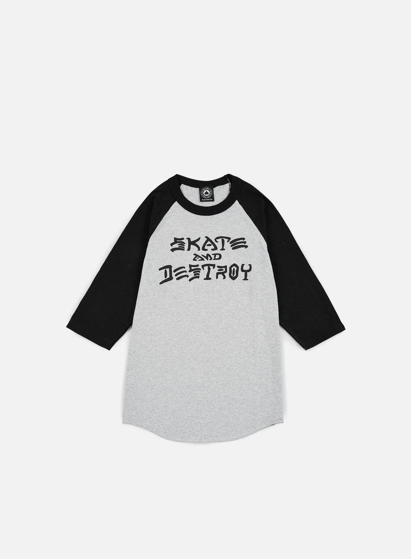 Thrasher Skate & Destroy Raglan T-shirt