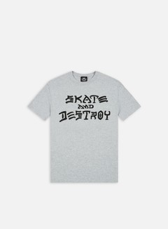 Thrasher - Skate & Destroy T-shirt, Grey