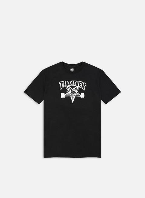 Short sleeve T-shirts Thrasher Skate Goat T-shirt