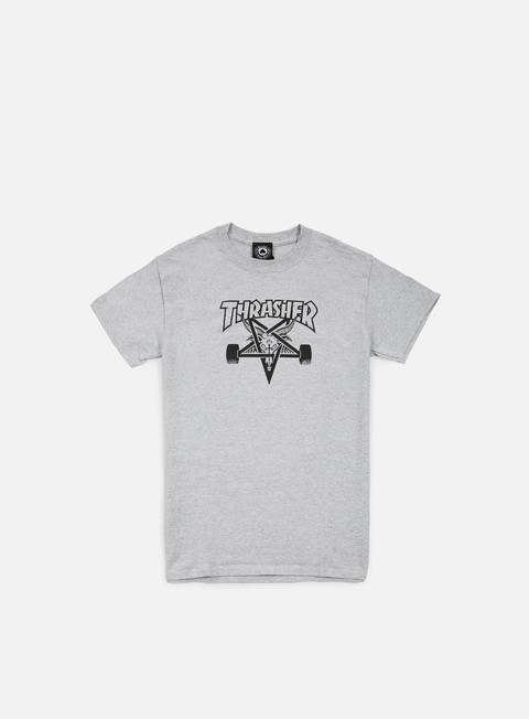 t shirt thrasher skate goat t shirt grey