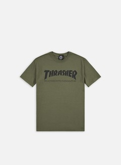Thrasher - Skatemag T-shirt, Army/Black 1