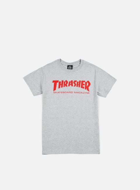 t shirt thrasher skatemag t shirt grey red