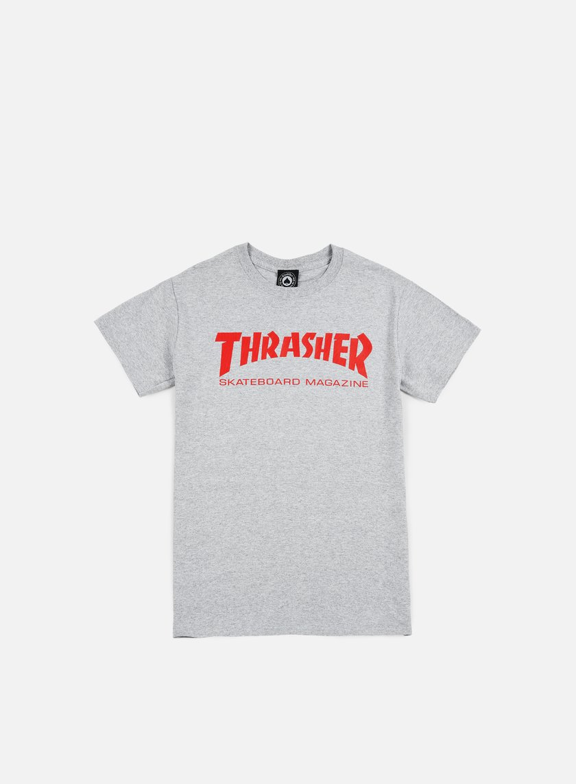 Thrasher - Skatemag T-shirt, Grey/Red