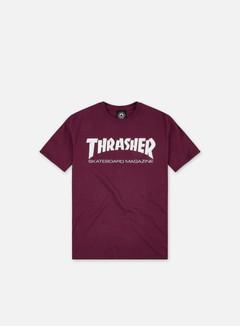 Thrasher - Skatemag T-shirt, Maroon/White