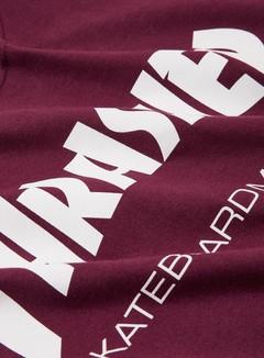 Thrasher - Skatemag T-shirt, Maroon/White 2