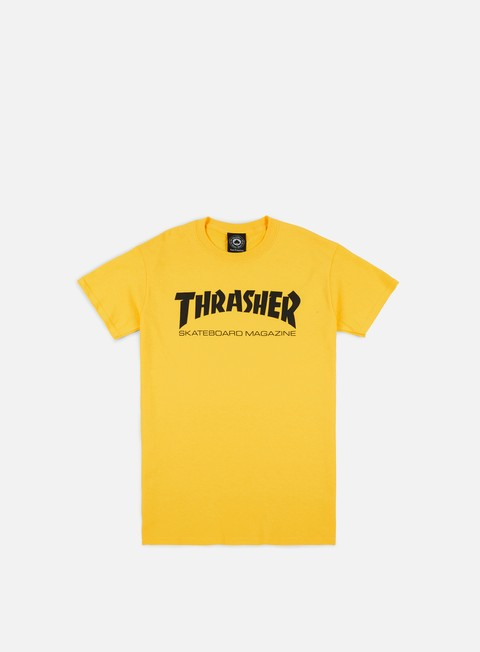 t shirt thrasher skatemag t shirt yellow