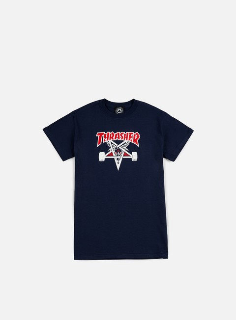 t shirt thrasher two tone skate goat t shirt navy