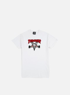 Thrasher - Two Tone Skate Goat T-shirt, White