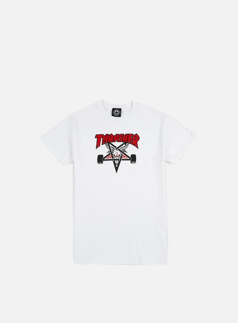 Short Sleeve T-shirts Thrasher Two Tone Skate Goat T-shirt