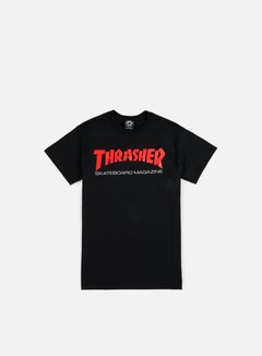 Thrasher - Two Tone Skatemag T-shirt, Black 1