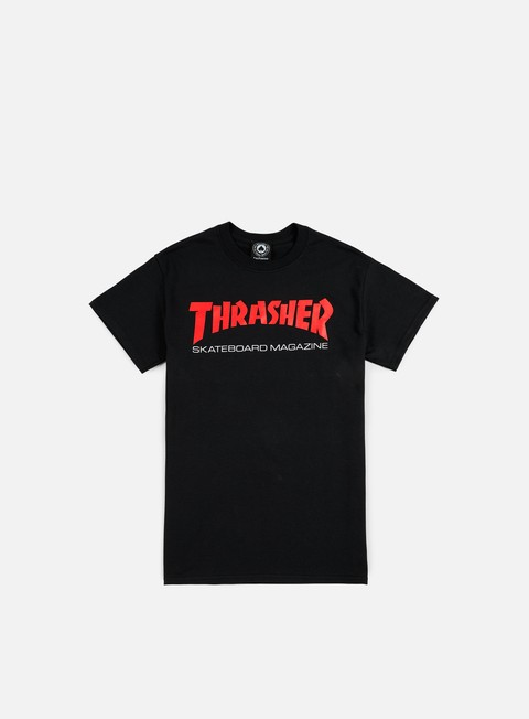 t shirt thrasher two tone skatemag t shirt black