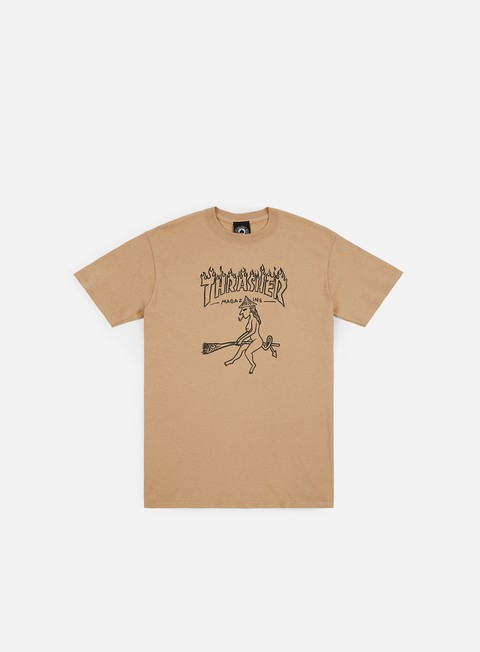 Short Sleeve T-shirts Thrasher Witch T-shirt