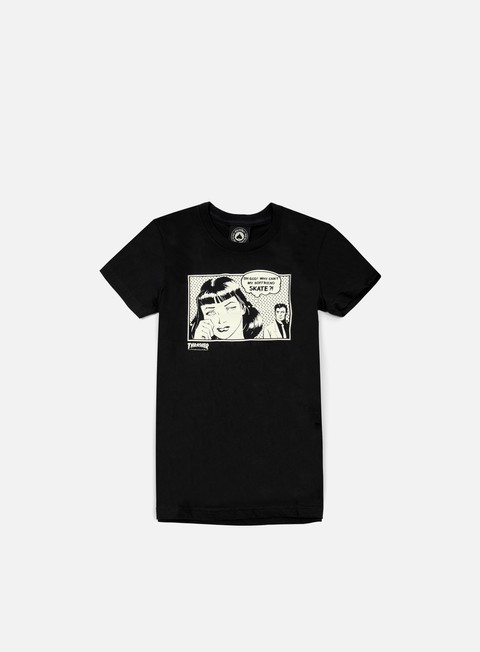 t shirt thrasher wmns boyfriend t shirt black