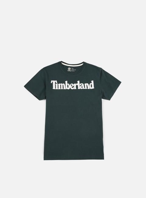 t shirt timberland brand t shirt darkest spruce