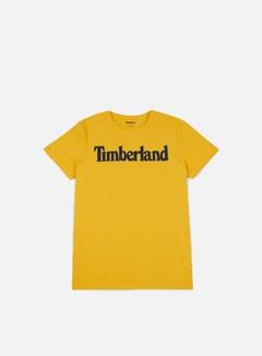 Timberland - Brand T-shirt, Lemon Chrome Linear