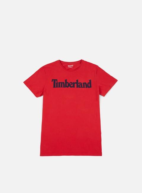 t shirt timberland brand t shirt tango red
