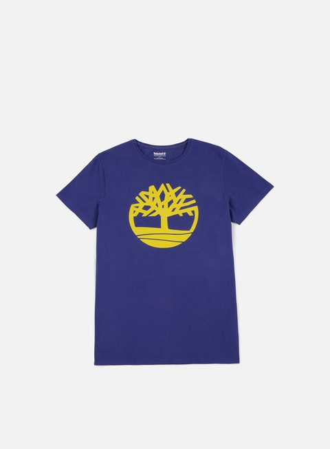 t shirt timberland brand tree t shirt twilight blue
