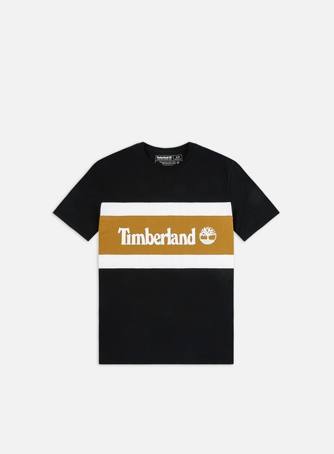 Outlet e Saldi T-shirt a Manica Corta Timberland C&S Colorblock T-shirt