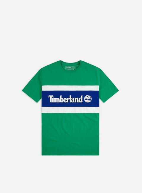 Outlet e Saldi T-shirt a Manica Corta Timberland C&S Colorblock T-shirt
