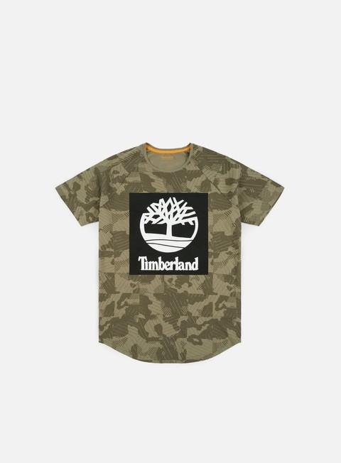 Outlet e Saldi T-shirt a Manica Corta Timberland Camo T-shirt