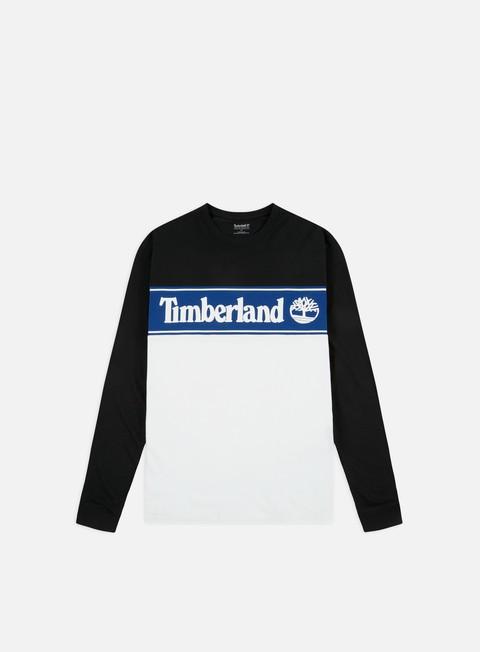 Outlet e Saldi T-shirt a Manica Lunga Timberland Cut & Sew Lin Logo LS T-shirt