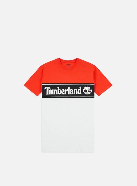 Outlet e Saldi T-shirt a Manica Corta Timberland Cut & Sew Lin Logo T-shirt
