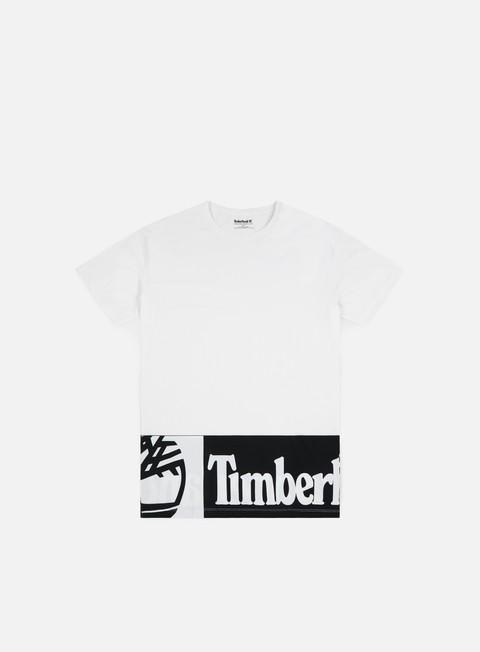 Outlet e Saldi T-shirt a Manica Corta Timberland Elongated Logo T-shirt