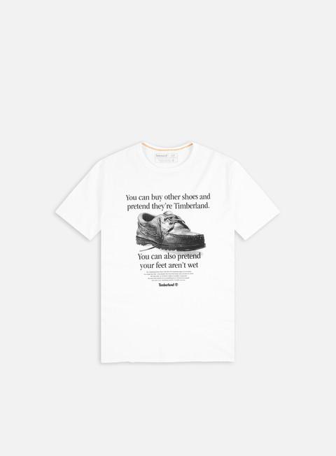 Short Sleeve T-shirts Timberland FT Archive-Print T-shirt