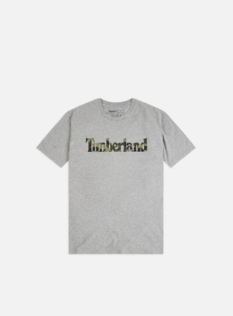 Short Sleeve T-shirts Timberland K-R Camo Linear T-shirt