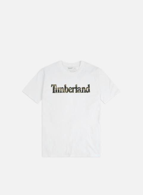 Outlet e Saldi T-shirt a Manica Corta Timberland K-R Camo Linear T-shirt