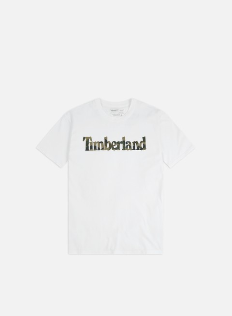 T-shirt a Manica Corta Timberland K-R Camo Linear T-shirt