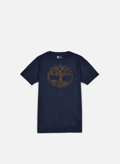 Timberland - Kennebec River Camo Tree T-shirt, Dark Sapphire